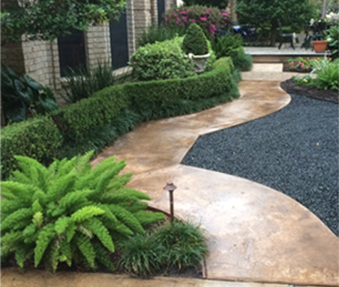 Landscaping houston tx outdoor goods for Garden design questions