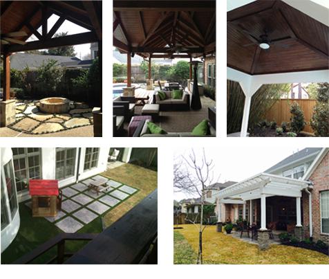 Houston Texas Patio Cover Construction, Houston TX Outdoor Privacy Fencing